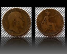 United Kingdom 1 Penny-Edward VII. 1908 KM#794