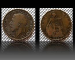 United Kingdom 1 Penny-George V. 1917 KM#810
