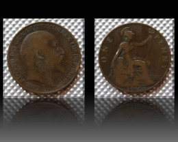 United Kingdom 1 Penny-Edward VII. 1910 KM#794