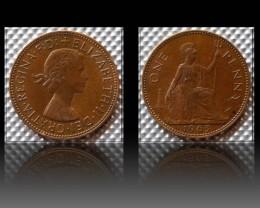 United Kingdom 1 Penny-Elizabeth II. 1963 KM#897