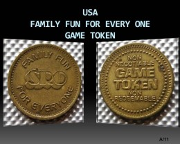 USA Family fun for every one Game Token