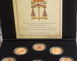VATICAN SEDE VACANTE - 1963 to 2013 COMMEMORATIVE SET - RARE