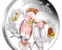 FOREVER LOVE 2014 1/2OZ SILVER PROOF COIN