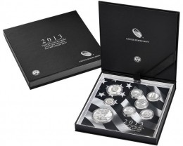 2013 United States Mint  Limited Edition Silver Proof Set.