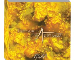 WED    TREASURES OF AUSTRALIA GOLD AND SILVER COIN