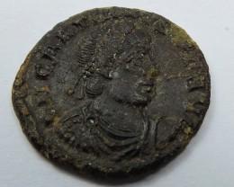 ANCIENT ROMAN  BRONZE  COIN  DISPLAY AC 803