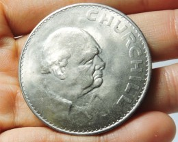 COMMEMORATIVE 1965 CHURCHILL COIN    CO 1733