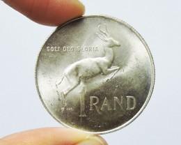 South Africa 1967 1 Rand Dr. Verwoerd; Afrikaans  CO 1735