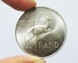 South Africa 1967 1 Rand Dr. Verwoerd; Afrikaans  CO 1738