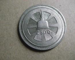 Ceylon 1957 Buddha Jayanthi 1 Rupee  Cupro Nickel Coin