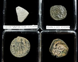 SHIPWRECK & ANCIENT COIN TREASURES 16-150 (SAT)