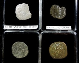 SHIPWRECK & ANCIENT COIN TREASURES 32-150 (SAT)