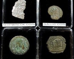 SHIPWRECK & ANCIENT COIN TREASURES 15-150 (SAT)