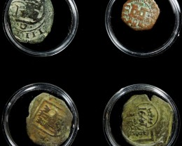TREASURE SERIES OF ANCIENT SPANISH COINS 4-200 ( ASC)