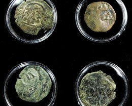 TREASURE SERIES OF ANCIENT SPANISH COINS 13-200 ( ASC)