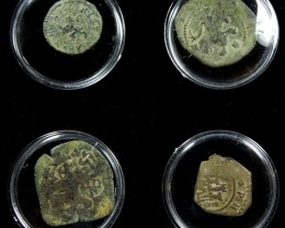 TREASURE SERIES OF ANCIENT SPANISH COINS 14-200 ( ASC)