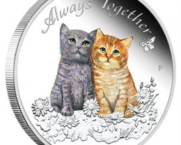 ALWAYS TOGETHER 2015 1/2OZ SILVER PROOF COIN