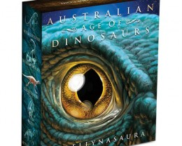 Australian Age of Dinosaurs - Leaellynasaura 2015 1oz Silver Proof Coloured