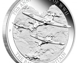 The Battle Britian 75Th Anniversary silver coin