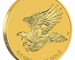 Australian Wedge-tailed Eagle 2015 0.5g Gold Coin