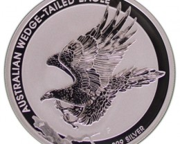 2015 australian wedge tail eagle one ounce silver coin