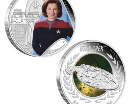 Captain Kathryn Janeway & U.S.S. Voyager NCC-74656