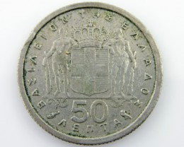 Greece 50 LEPTA   CO 2019