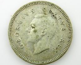 3 pColonial  silver  .800 coin coin CO 2044