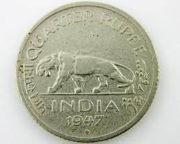 1947 British india Colonial coin CO 2046