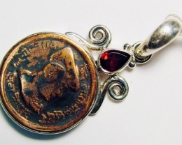 COLLECTABLE COIN PENDANT JEWELRY 54 CTS TBC-1