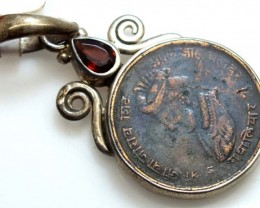 COLLECTABLE COIN PENDANT JEWELRY 41 CTS TBC-4
