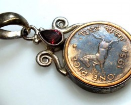 COLLECTABLE COIN PENDANT JEWELRY 40 CTS TBC-8