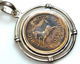 COLLECTABLE COIN PENDANT JEWELRY 40 CTS TBC-10