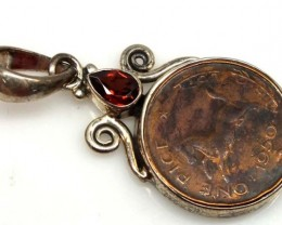 COLLECTABLE COIN PENDANT JEWELRY 45 CTS TBC-14