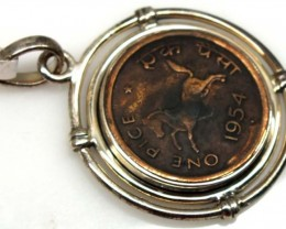 COLLECTABLE COIN PENDANT JEWELRY 45 CTS TBC-15
