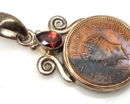 COLLECTABLE COIN PENDANT JEWELRY 35 CTS TBC-19