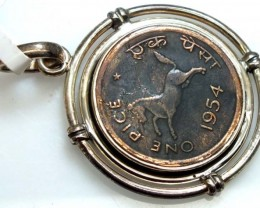 COLLECTABLE COIN PENDANT JEWELRY 45 CTS TBC-20