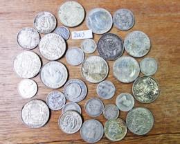200 Grams Pre 1946 silver coins Co2063