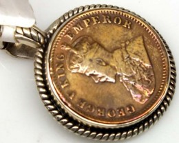 COLLECTABLE COIN PENDANT JEWELRY 72.05 CTS TBC-23