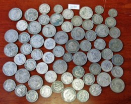 Half kilo  POST1946 silver coins Co2076