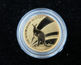 1/20 the Australian Nugget  Gold coin