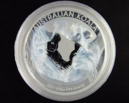 2011 KoALA  half   Ounce Roll 20 Silver Coin