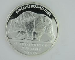 Liberty E PLURIBUS.UNUM .999 silver