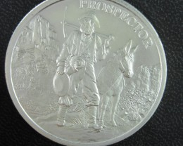 Provident prospector .999 silver one ounce
