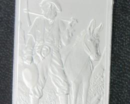 Provident Metals Prospector Rectangular shape .999 silver
