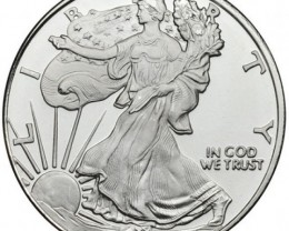 One Ounce ,american walking liberty design