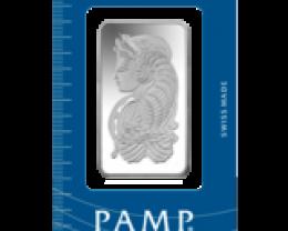 50 GRAM PAMP SILVER BAR CERT NUMBER 5377