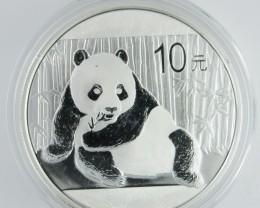 2015 Panda .999 silver Coin
