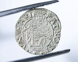 Ferdinand 1 denar hungary 1555 lgn 956