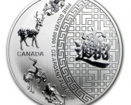 Blessings 2016 one ounce silver .9999 coin